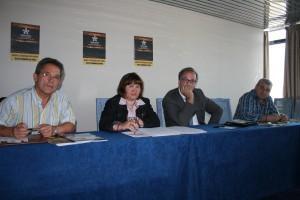 Charla cos advogados, Petra Beck e Xosé Calvo 25-04-2010