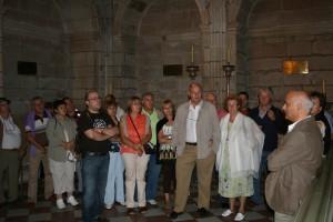 Capela dos Reis de Galiza con explicacións de Manuel Vázquez